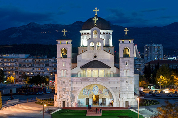 Cathedral Of The Resurrection Of Christ In Podgorica